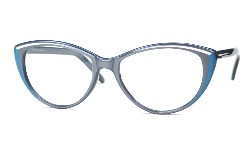 Vintagebrille 80er Jahre, große Cateyebrille