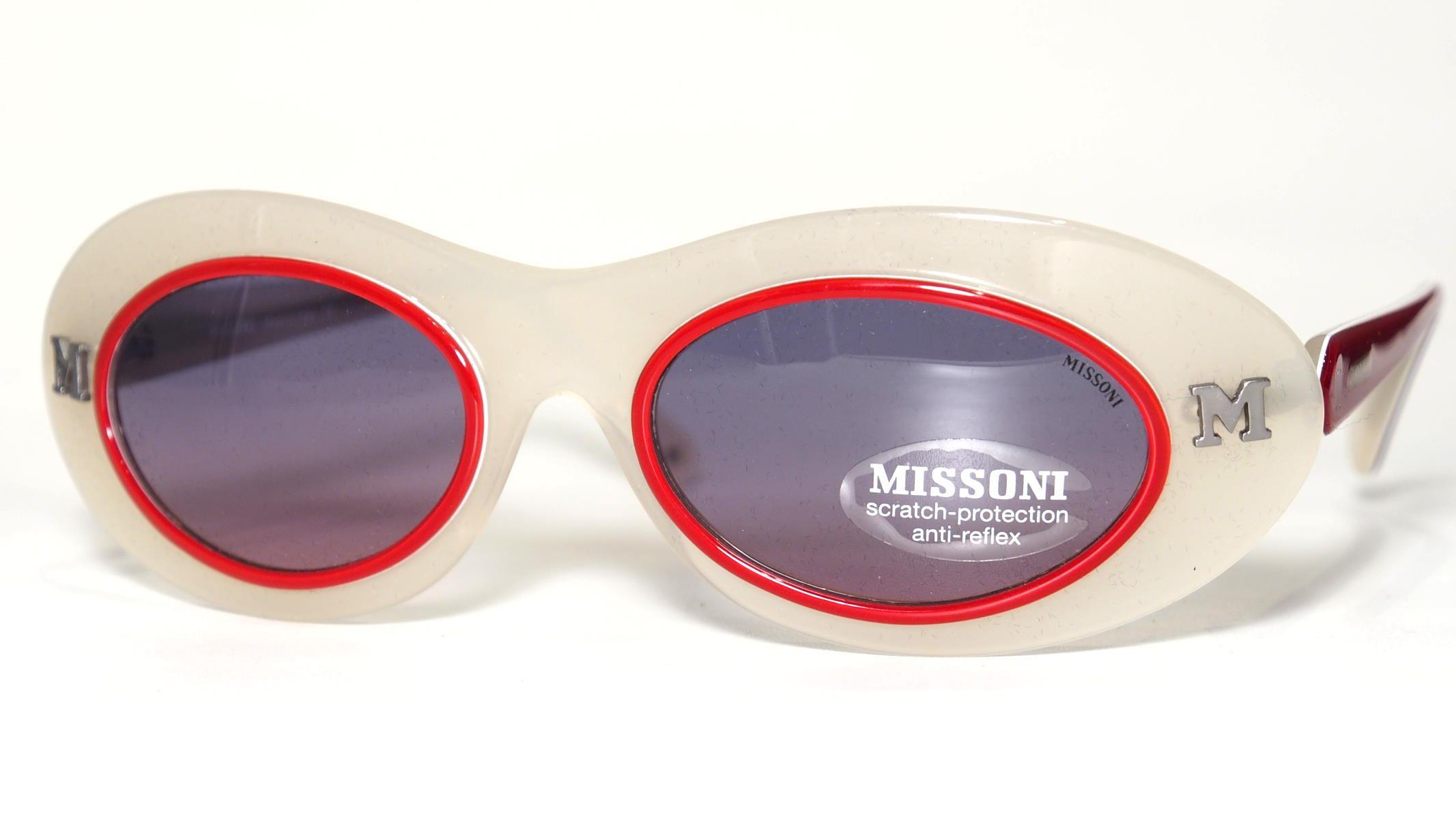 Sonnenbrille von Missoni aus den 90er Jahre,echt Vinatge