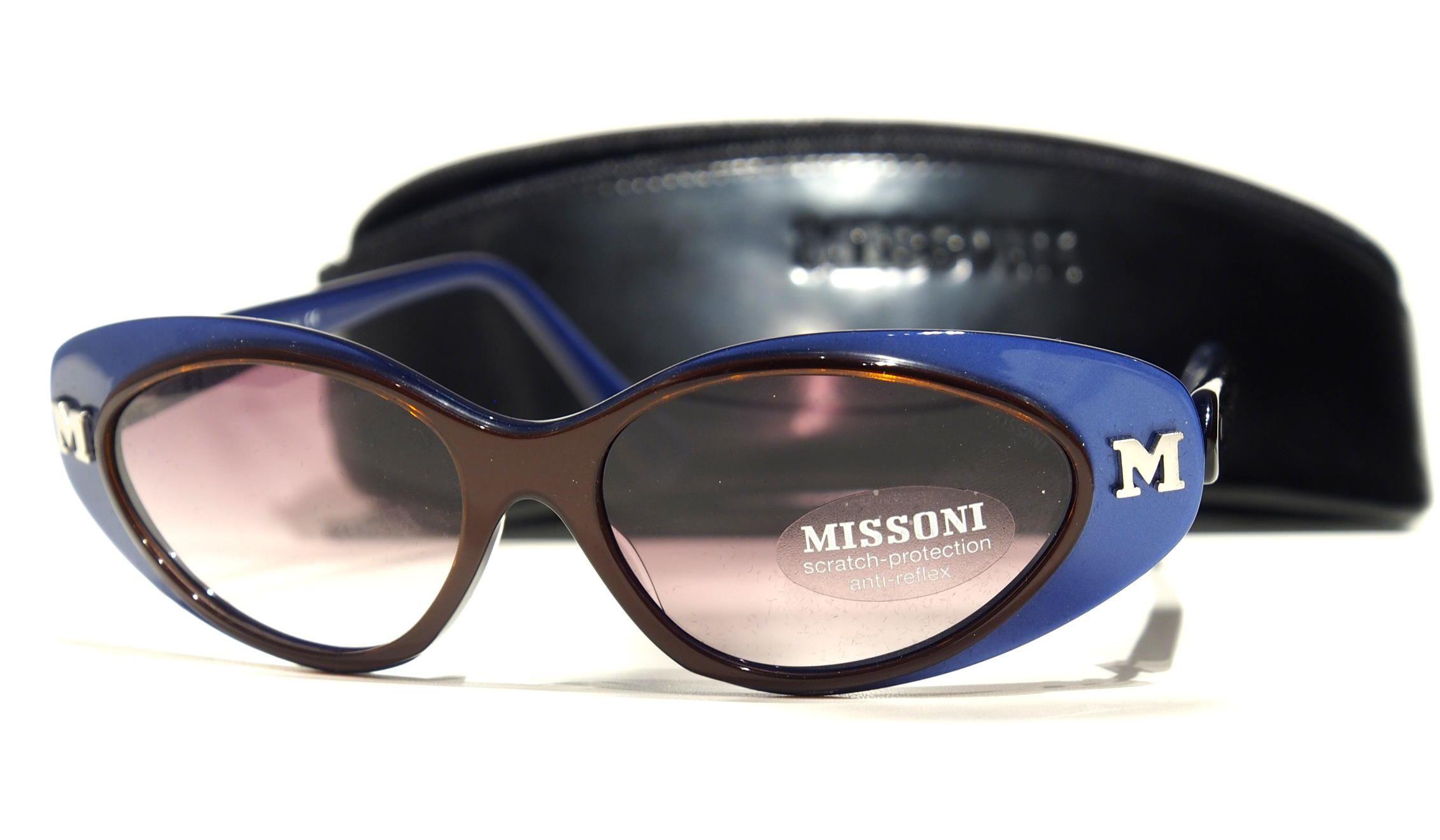 Sonnenbrille von Missoni 90er Jahre Kult-Sonnenbrille echte Vintagebrille