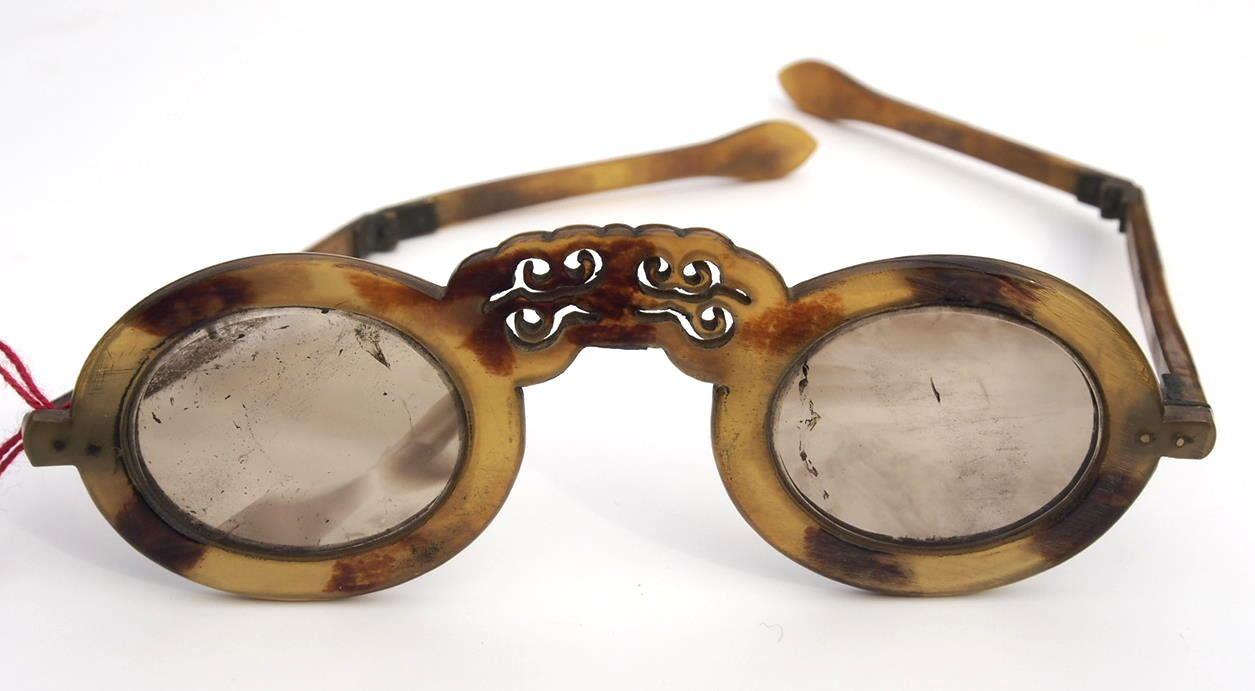 Asiatische Museumsbrille aus dem Brillenmuseum Hamburg 558