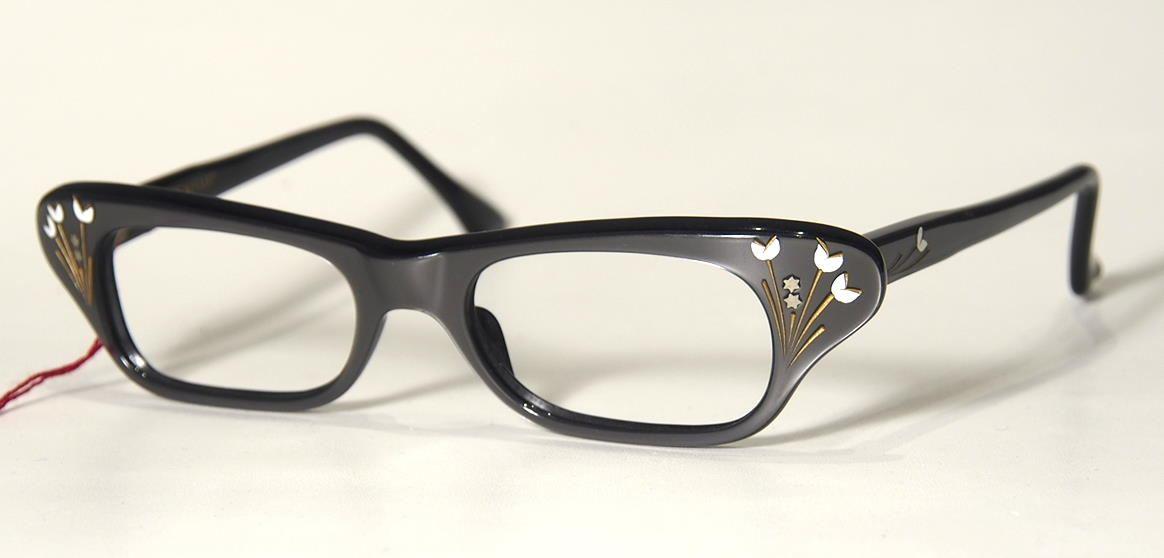 60er Jahre Schmetterlingsbrille 18032