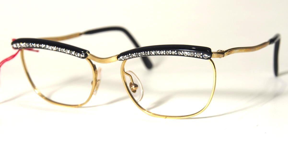 50er Jahre Schmuckbrille 10207