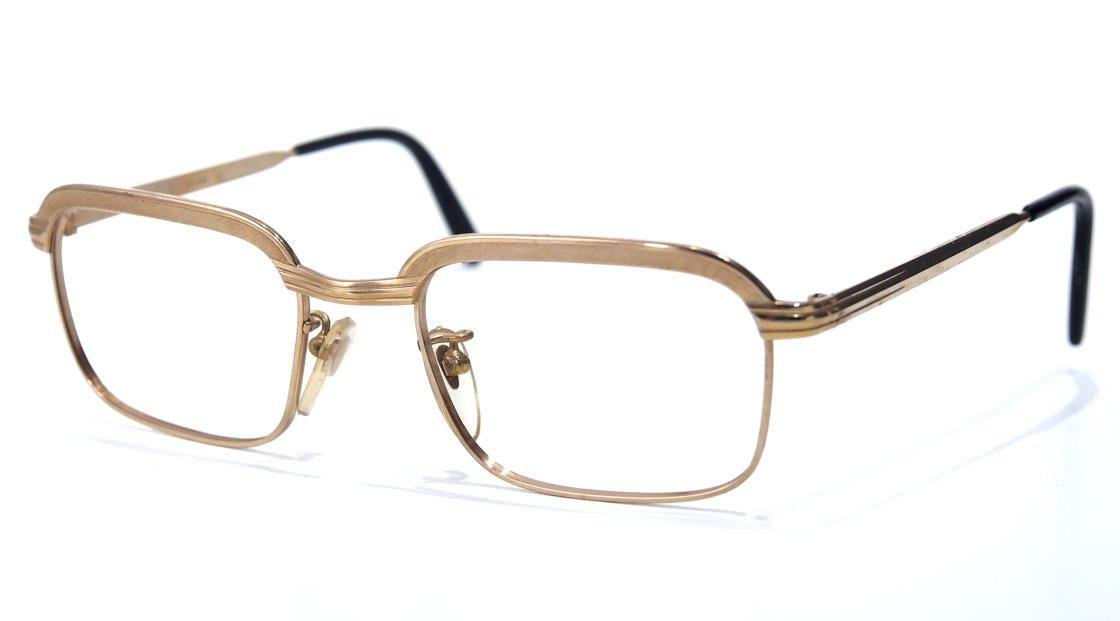 50er Jahre 12 Karat Gold Double 19751 Brille