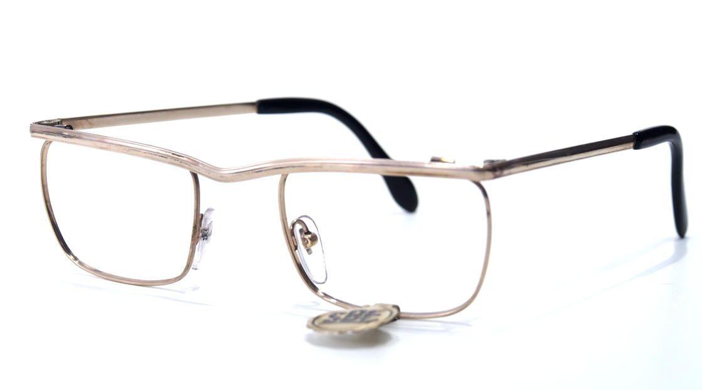 50er Jahre Brille 12 Karat Gold Double 19749