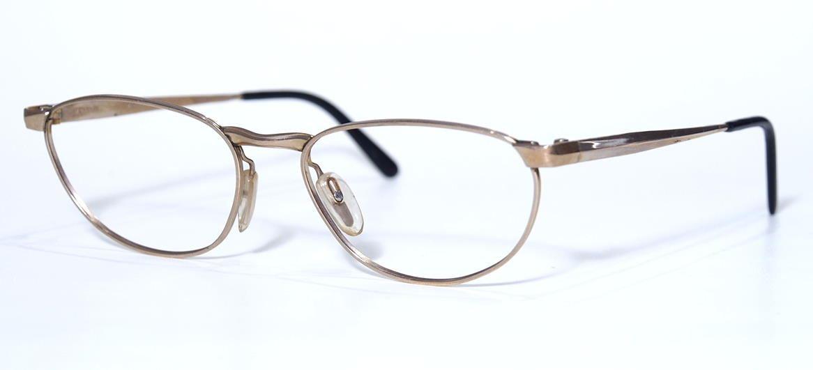 50er Jahre Brille 12 Karat Gold Double 19758