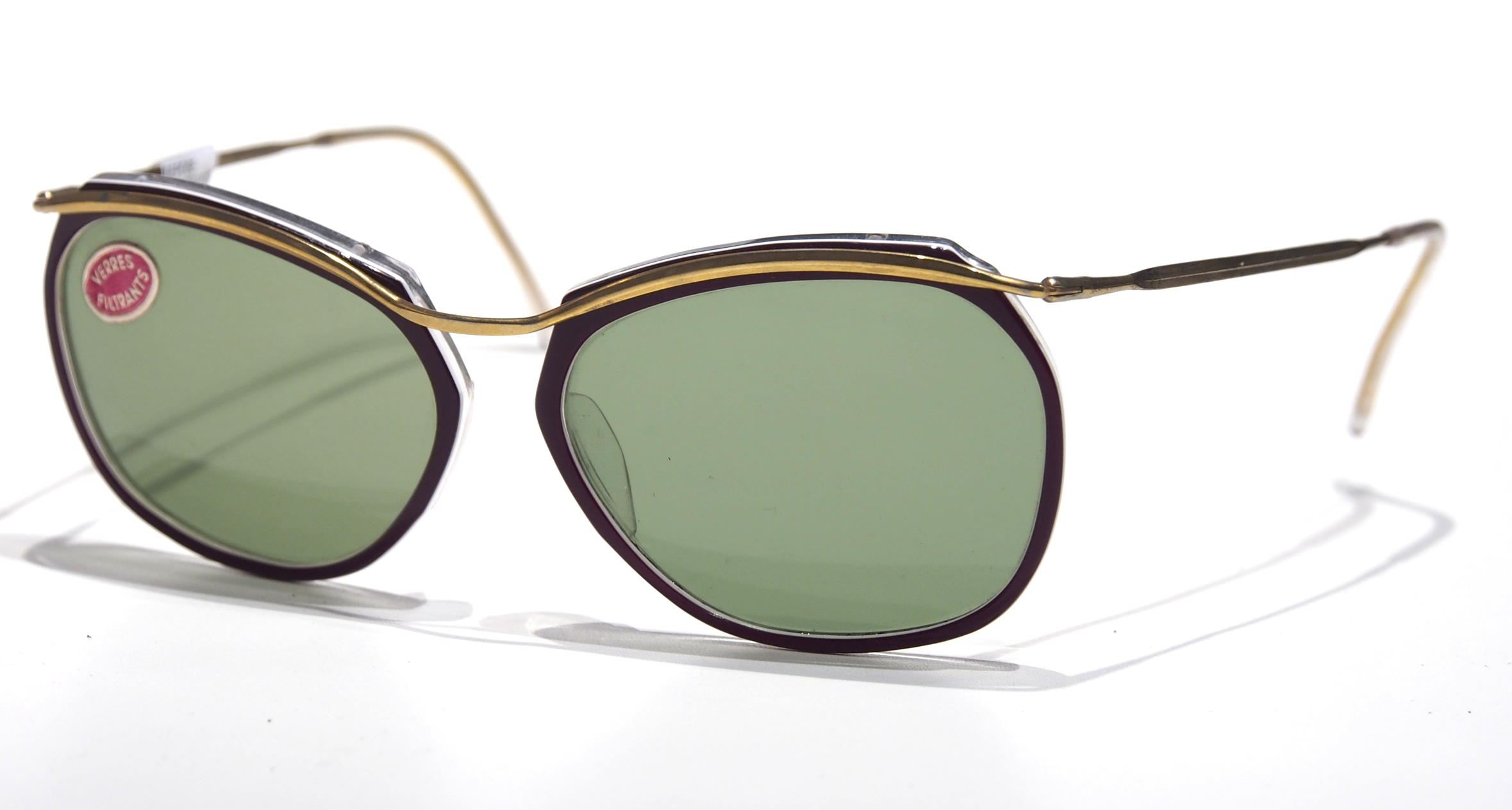 50er Brille als Schmetterlingsbrille 17966