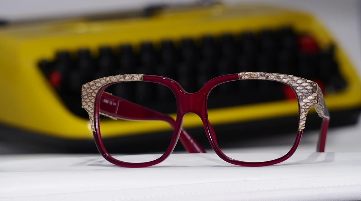 Vintage Brille Emanuelle Khahn aus den 70er Jahren