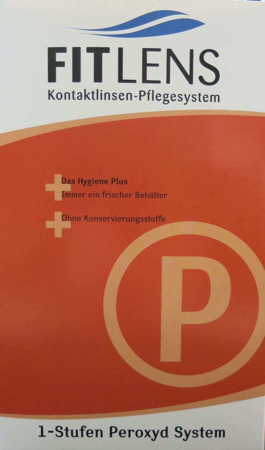 Fitlens 1 Stufen Peroxyd System 360ml, 45 Tabletten + Behälter