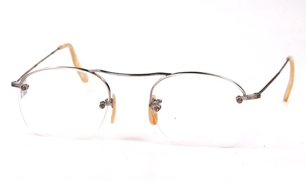 Antike Brille aus den 30er Jahren, Oberbalkenbrille