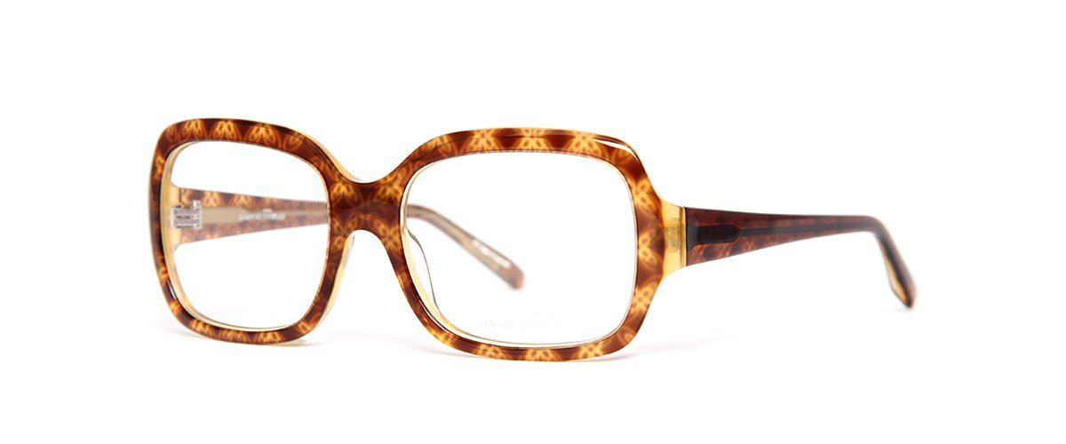 Hamburg Eyewear Ida 515 caramel/transparent/paisleymuster
