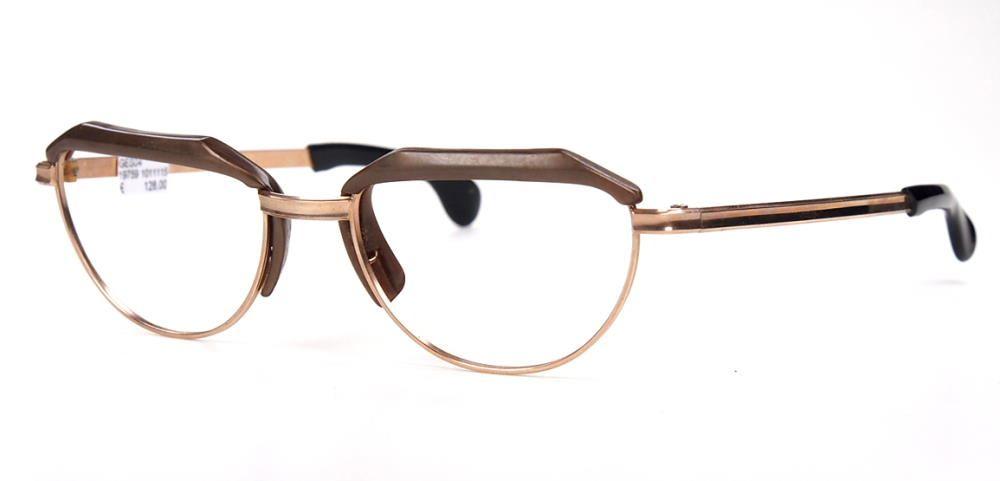 12 Karat 50er Jahre  Gold Double Brille 19759