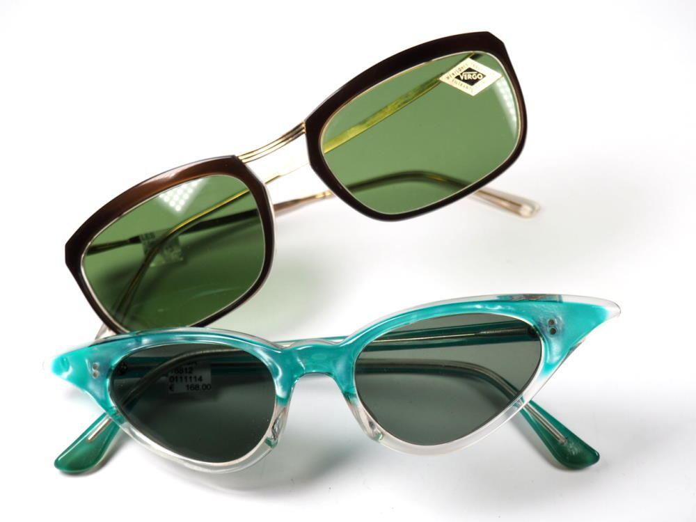 50er Jahre Sonnenbrillen