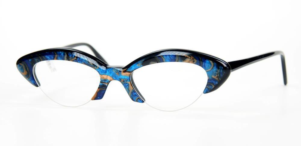 Proksch Cateye Vintagebrille der 80er Jahre