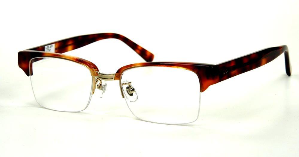 Rockabilly Vintagebrille  70er Jahre Oberbalken randlos