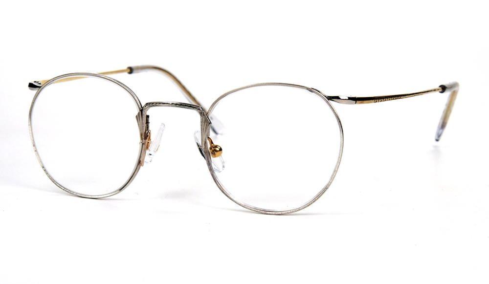 Pantobrille, Antikbrille aus den 30er/40er Jahren, fabrikneu