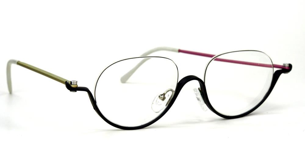 pro design Nr. eight 1305 optic studio Denmark Vintagebrille der 80er Jahre