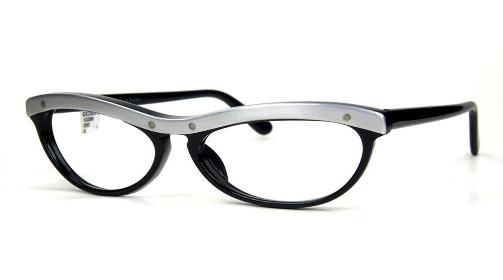 Vintagebrille Modellbrille von IDC in Cateye Form der 90er Jahre, fabrikneu,