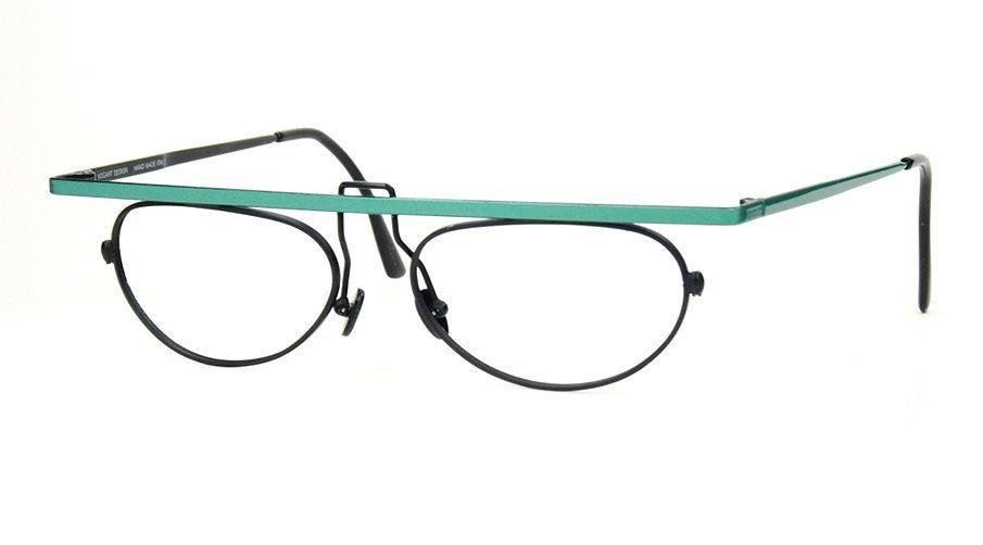Echte Vintagebrille der 90er Jahre Vogart Design Made in Italy