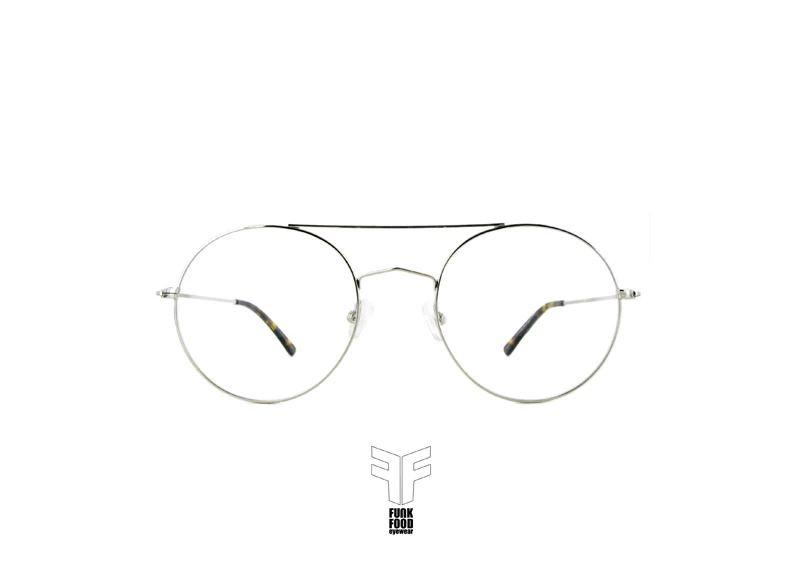Funk Food Brille,eyewear, Bobotie C1 shiny-silver