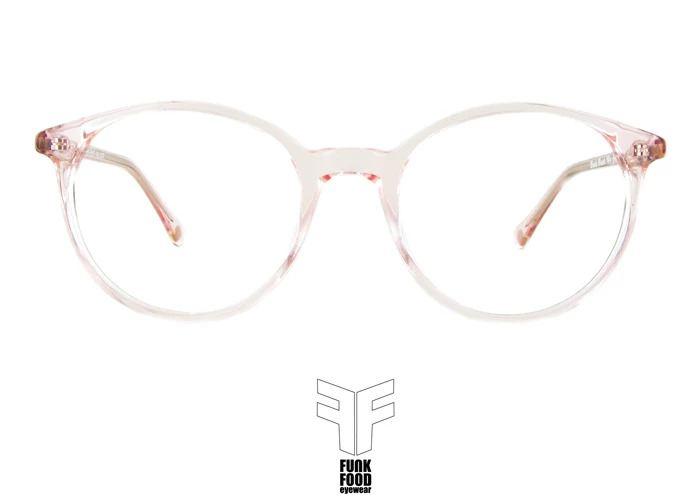 Funk Brille, Congee C4 transparent pink