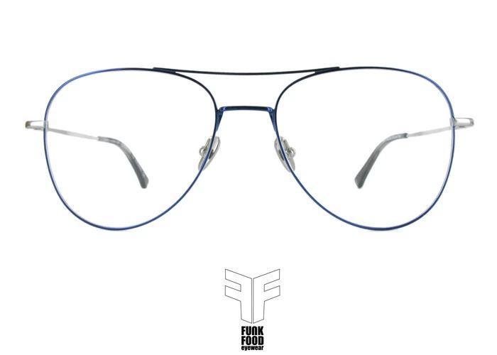Funk Food Piroggen C2 2-tone: silver + dark blue