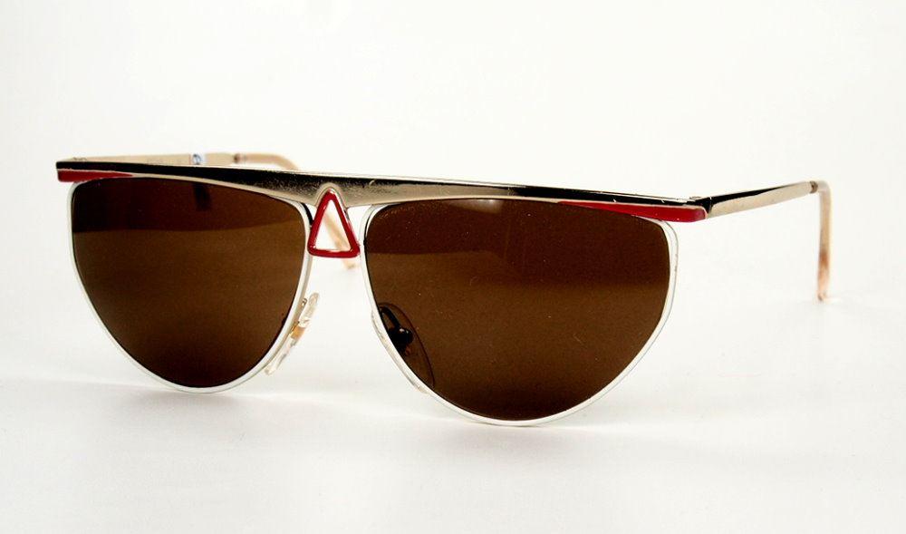 Sonnenbrille TrueVintage leichtes Gestell aus den 90er Jahren mit Sonnengläsern