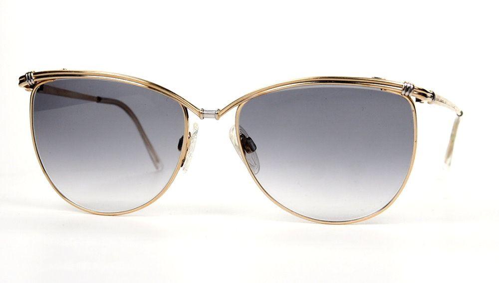 Vintage Sonnenbrille für Damen fein und edel und hochwertig