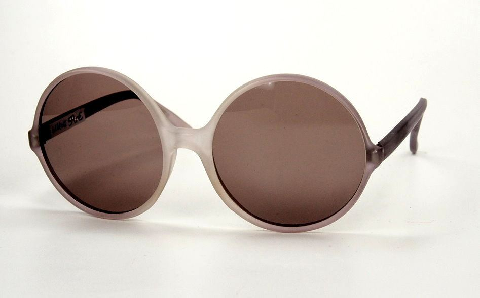 Rund 80er Jahre Sonnenbrille fabrikneu, die Gläser haben UV Schutz,