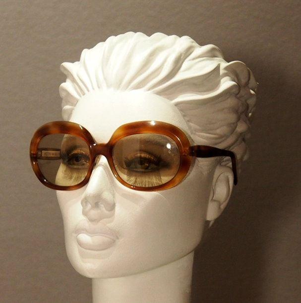 Sonnenbrille Vintage große Brille echt aus den 70er Jahren