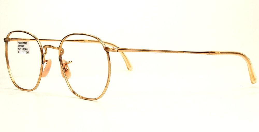 Antike Golddouble Brille aus den 30er/40er Jahren