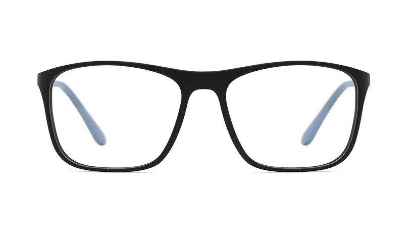 Sea2see eyewear Fogo Farbe 03 Schwarz/hellblau matt, recyceltes Meeresplastik