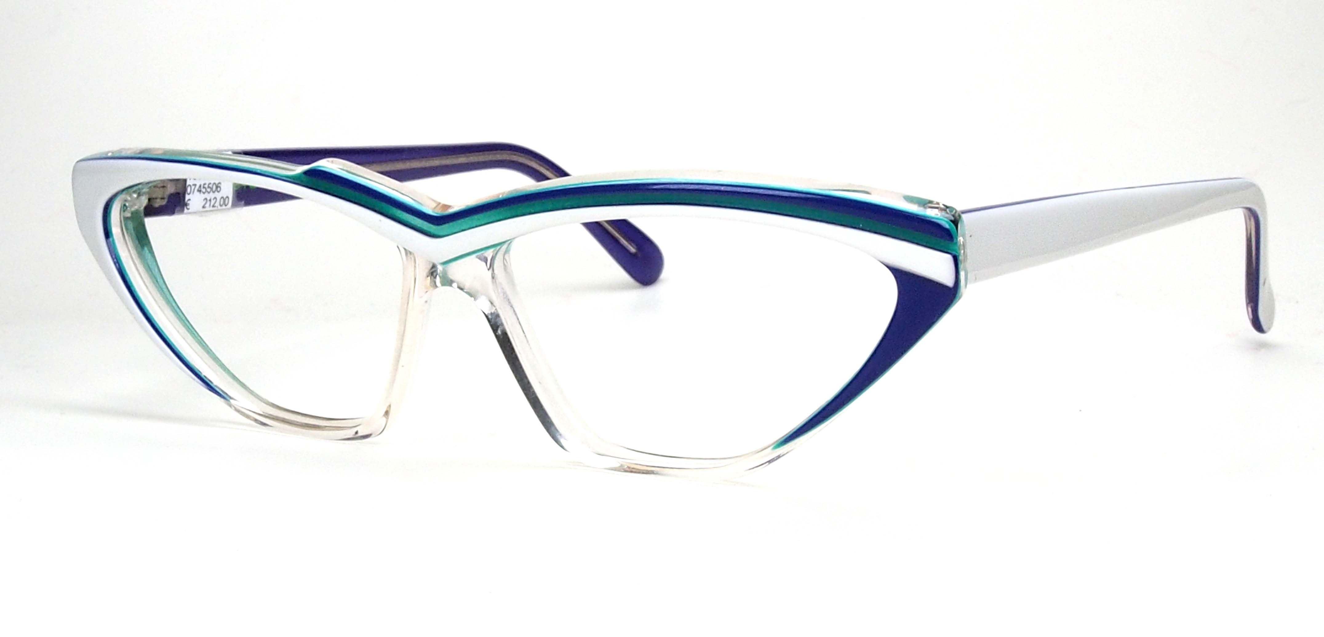 Vintage Brille der 90er Jahre, Cateyebrille