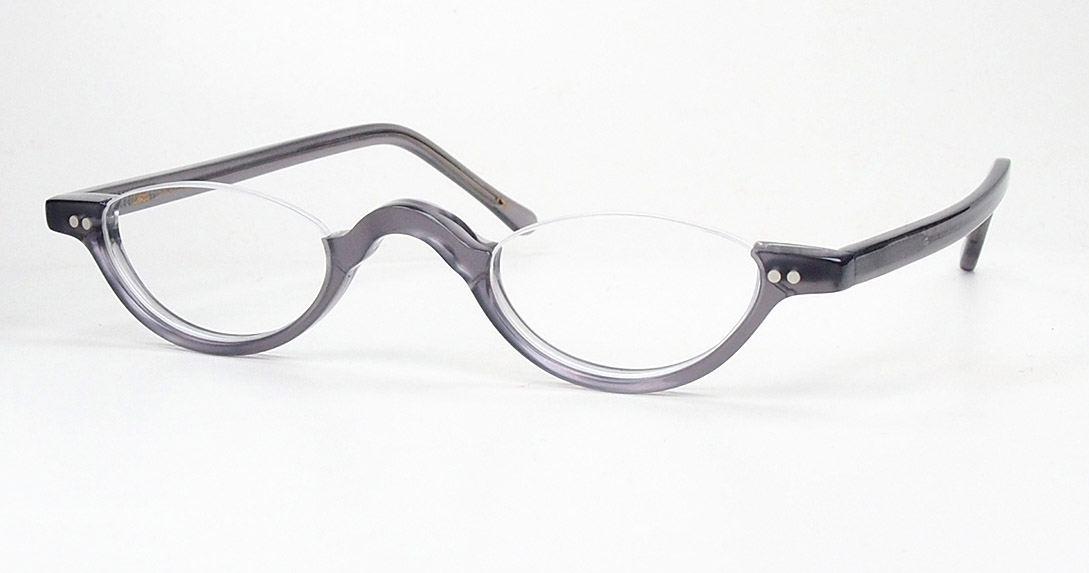 Halbbrille, Lesebrille,  Vintagehalbbrille echt Lesca